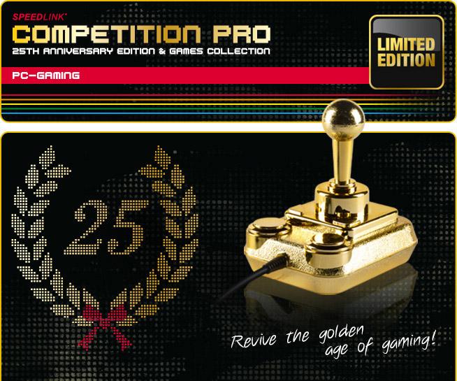 Speedlink 25th Anniversary Edition Competion Pro joystick