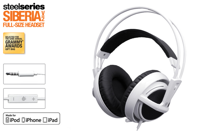 SteelSeries Siberia V2 Headset for iPhone