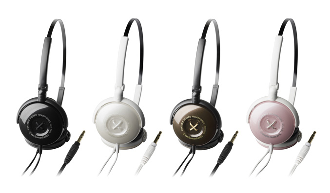 ATH-FW3-Button on-ear headphones
