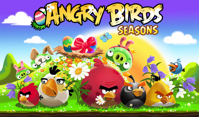 Angry Birds Season Easter