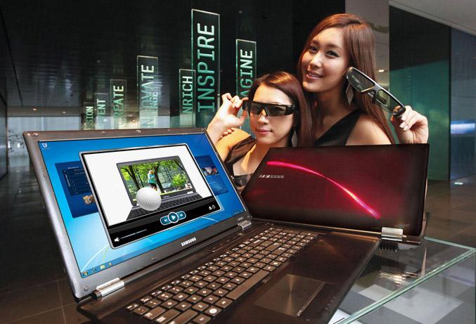 Samsung Sens RF712 3D notebook