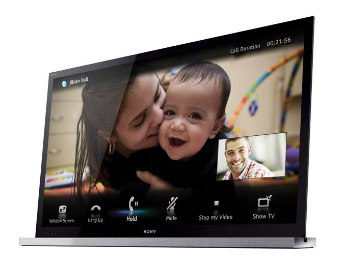Skype on Sony HX920