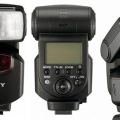 Sony F43AM External flash