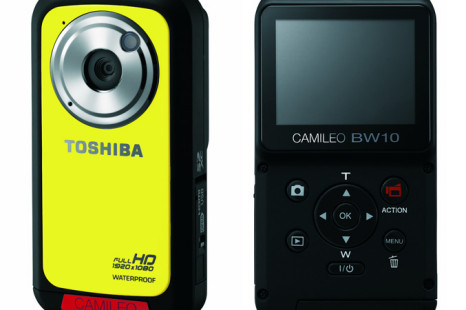 Toshiba outs Camileo BW10 Waterproof HD Camcorder