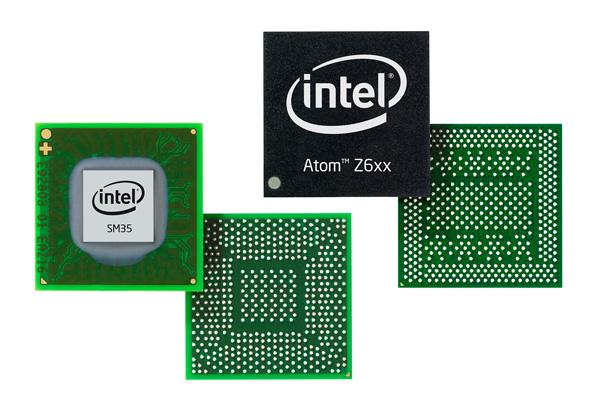atom z6xx with sm35 express chipset