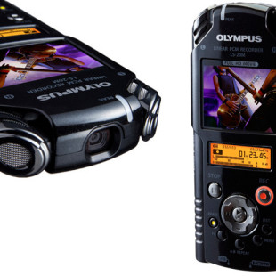 Olympus LS-20M PCM Recorder offers HD video recording