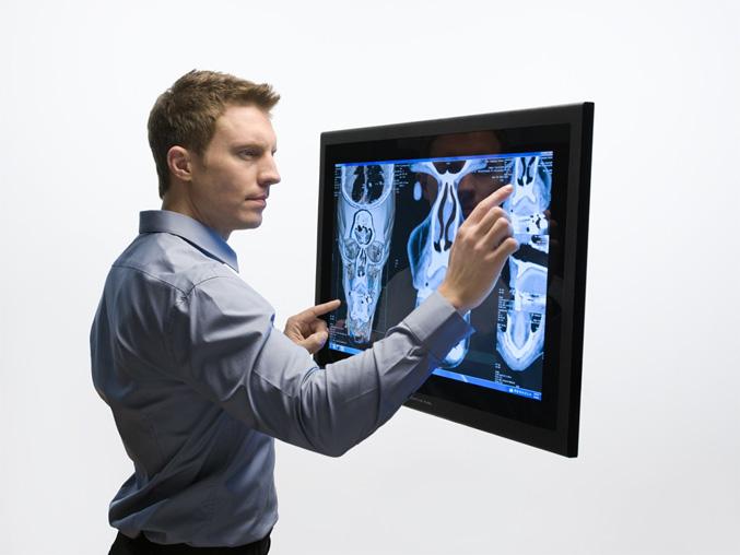 Perceptive Pixel 27-inch Multi-Touch Desktop Display