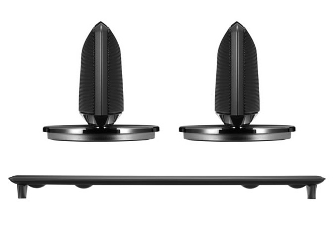 Pioneer S-HV500-LR satellite speakers and S-HV600B sound bar