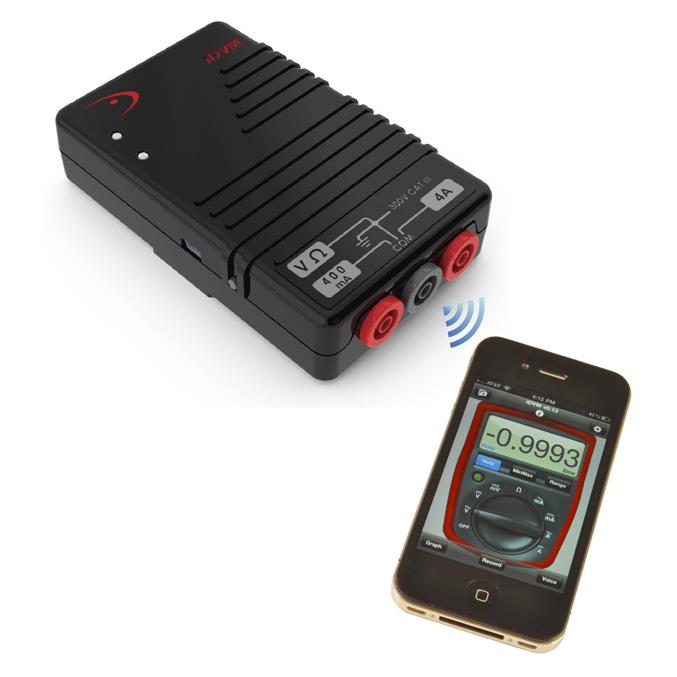 Redfish Instruments iDVM digital multimeter