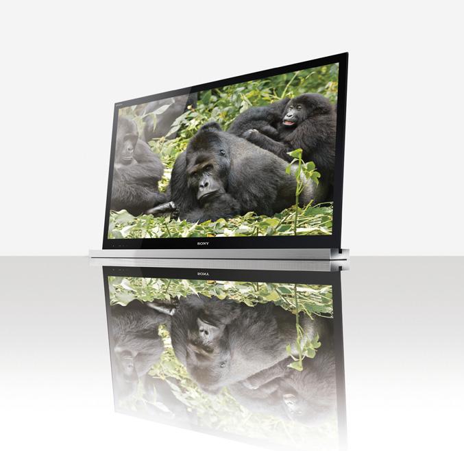 Sony BRAVIA HDTVs with Gorilla Glass