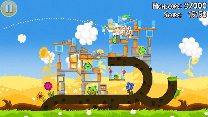 Angry Birds Seasons Summer Pignic