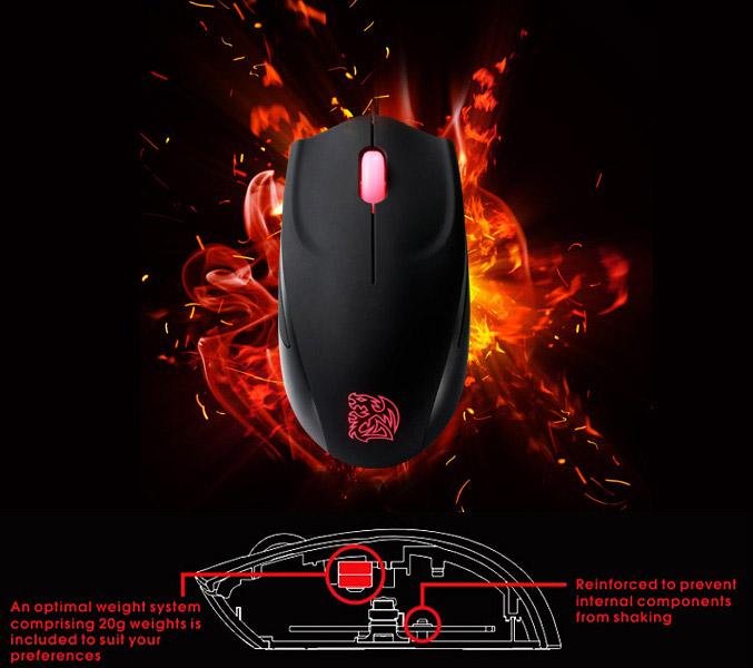 Azurues Mini FPS Gaming Mouse