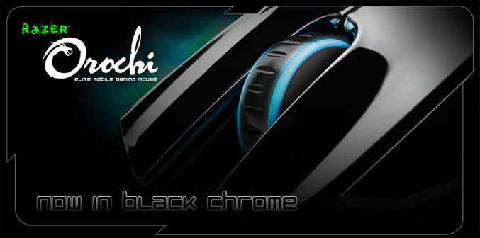 Razer Orochi Black Chrome Edition