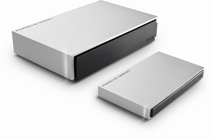 LaCie LaCie Porsche Mobile and Desktop Hard Drives (P'9231, P'9221)