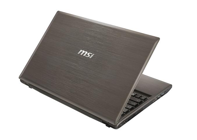 MSI GE620DX gaming notebook