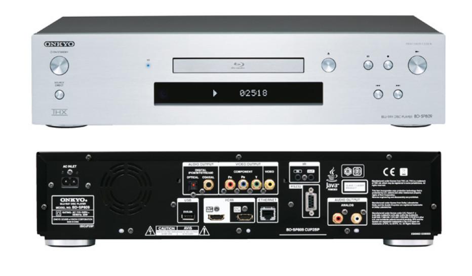Onkyo BD-SP809 THX-certified Blu-ray Player