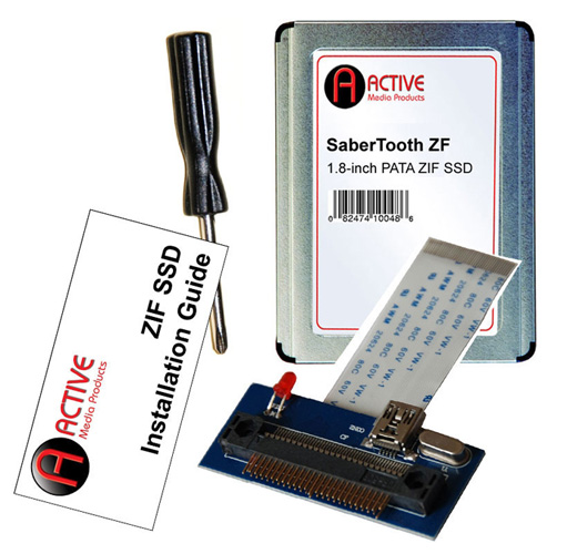 Active Media Products ZIF SSD Upgrade Kits