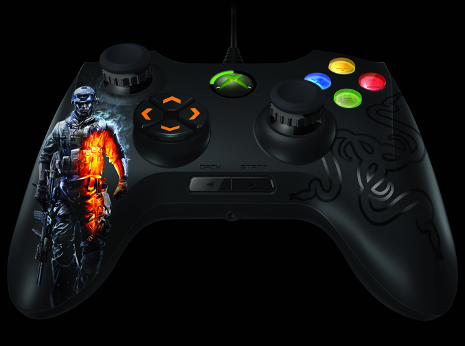 Battlefield 3 Onza Tournament Edition Xbox 360 controller