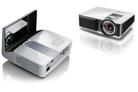 BenQ annouces new short-throw projectors