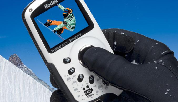 Kodak PlaySport Burton Edition camera