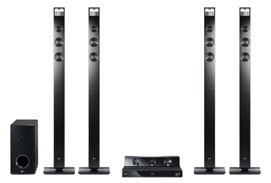LG HX906TX CINEMA 3D Sound 9.1 speaker system