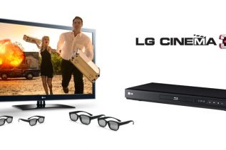 LG LW5300 Cinema 3D HDTV package