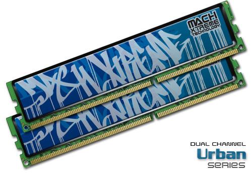 Mach Xtreme Urban Series Dual-Channel DDR3 memory kits
