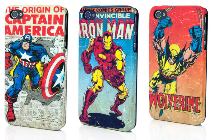 Marvel iPhone4 clip cases