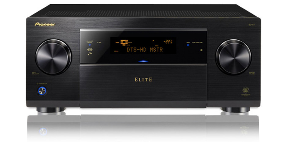 Pioneer launches its most powerful Elite SC-57 and SC-55 receivers