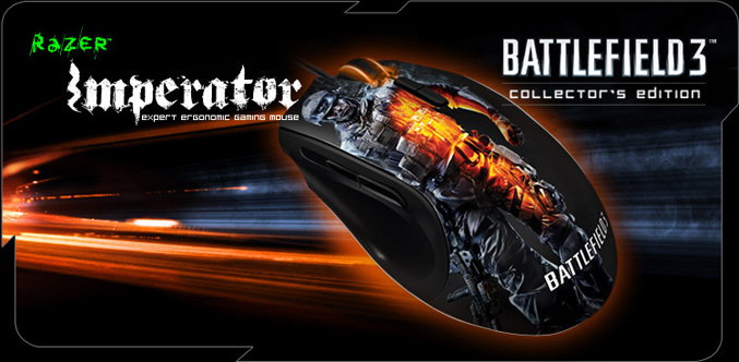 Battlefield 3 Imperator mouse