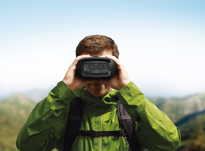 Sony DEV-3 digital binocular