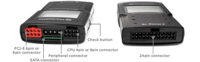 Dr. Power II Universal Digital Power Supply Tester