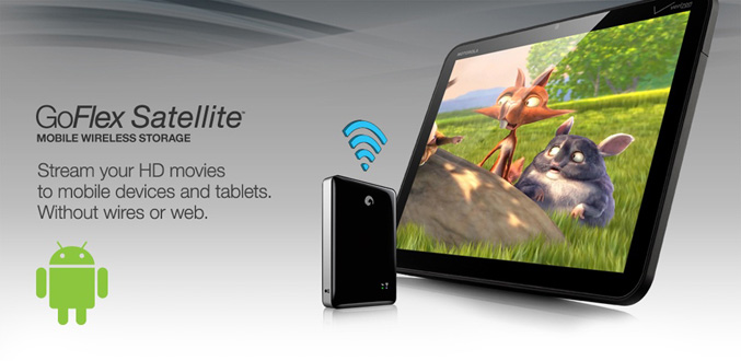 GoFlex Satellite Media App