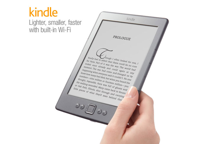 Amazon Kindle Wi-Fi 6-inch