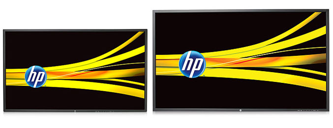 HP LD4220tm and HP LD4720tm Digital Signage Displays