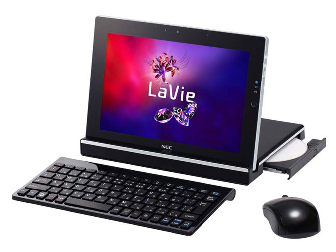 NEC LaVie Touch Windows 7 based tablet