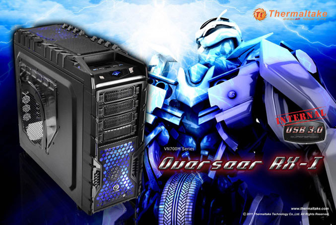 Thermaltake Overseer RX-I gaming chassis