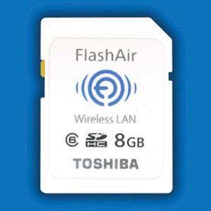Toshiba FlashAir WiFi card