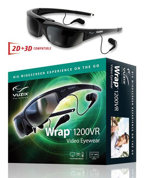 Wrap 1200VR video eyewear