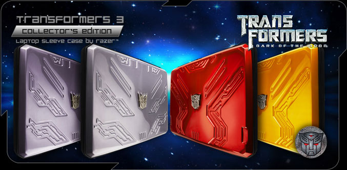 Razer Laptop sleeves Transformers3