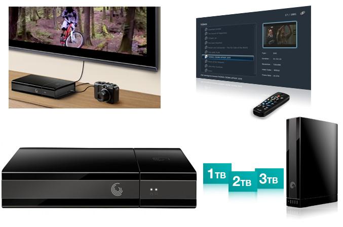 Seagate GoFlex Cinema multimedia hard drive