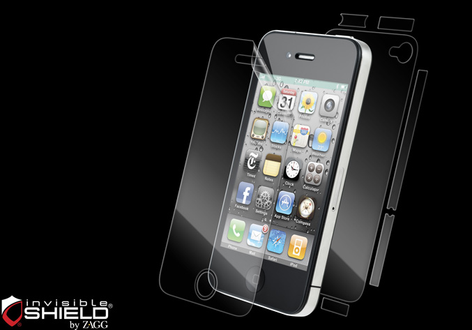 invisibleSHIELD for iPhone 4S