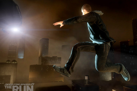 EA and Adidas with co-branded Need for Speed The Run shoes and apparel