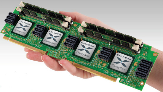 EnergyCore ARM Cortex A9 Server Chip