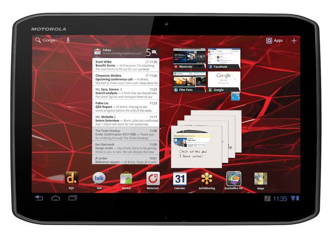 Motorola XOOM2 tablet