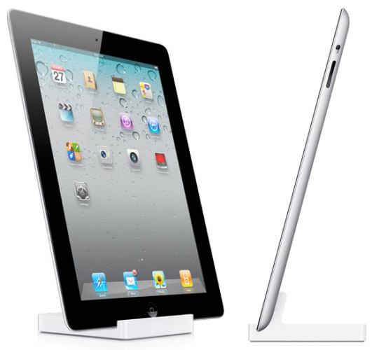 Apple iPad2 with dock