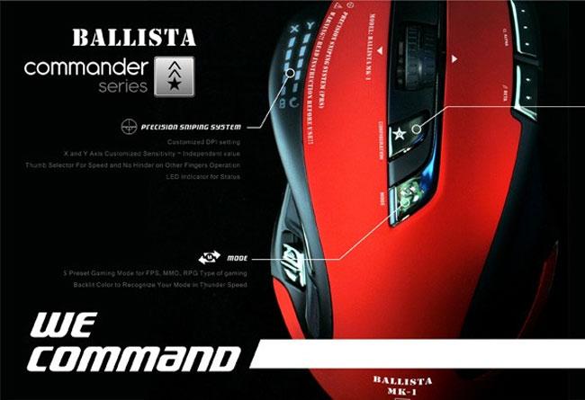 Ballista MK-1 mouse