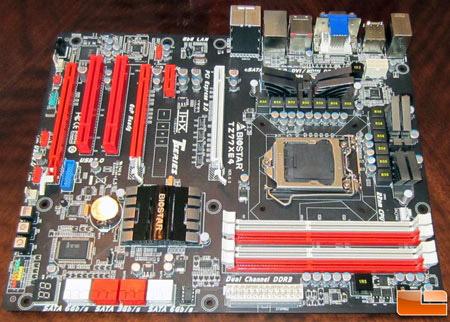 Biostar TZ77XE4 motherboard