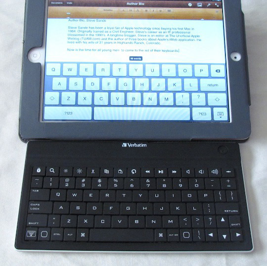 Verbatim Ultra-Slim Bluetooth Keyboard
