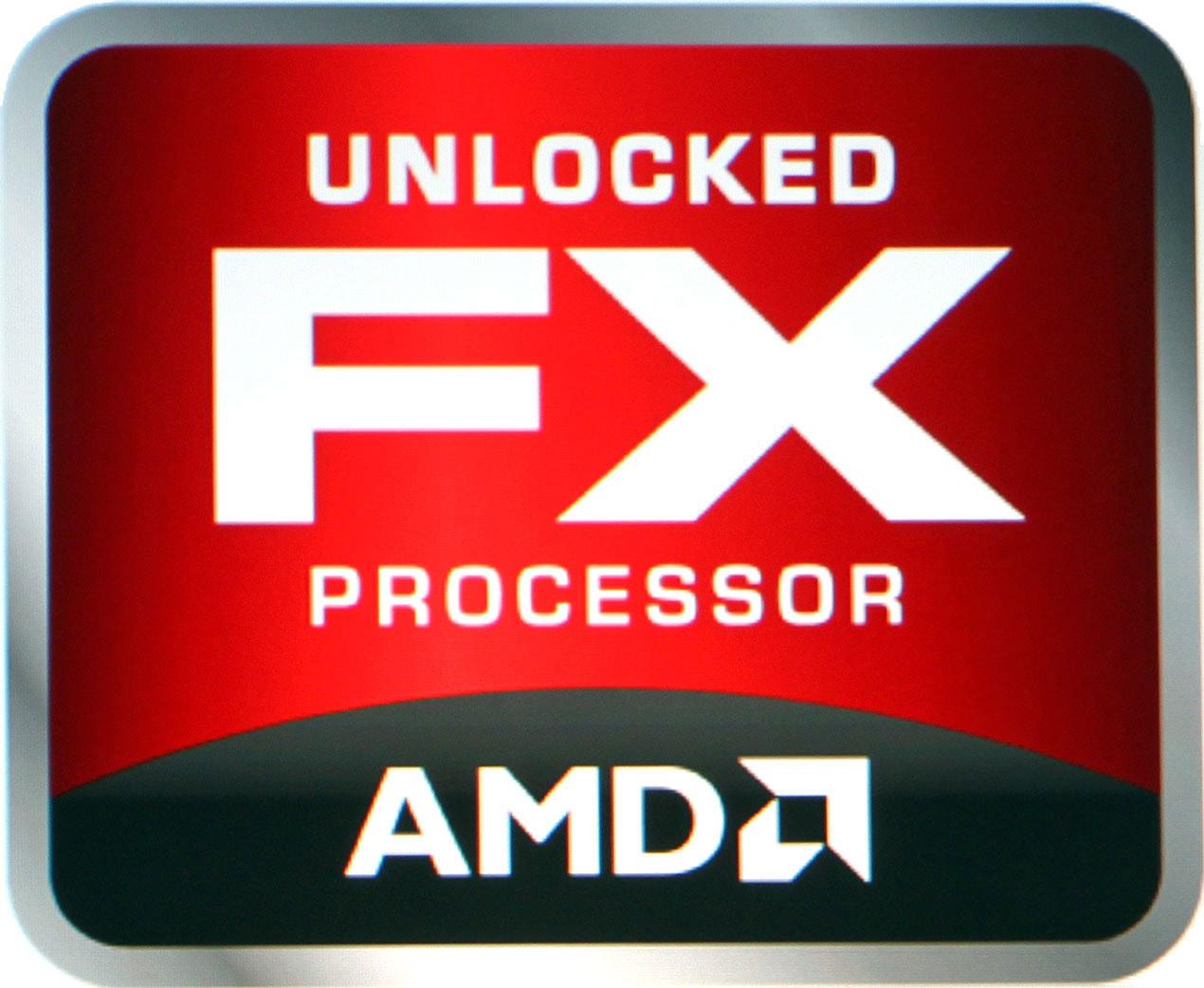 AMD FX processor logo